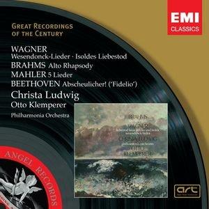 Immagine per 'Wagner, Brahms, Beethoven, Mahler: Wesendonck-Lieder etc.'