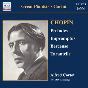 Image for 'CHOPIN: 24 Preludes, Op. 28 / 3 Impromptus / Berceuse in D flat major, Op. 57 (Cortot) (1926-1950)'