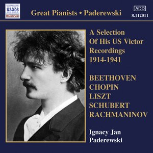 Image for 'Paderewski, Ignacy Jan: Victor Recordings (Selections) (1914-1941)'