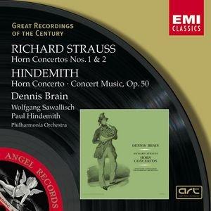 Image for 'R.Strauss & Hindemith : Horn Concertos etc/Dennis Brain'