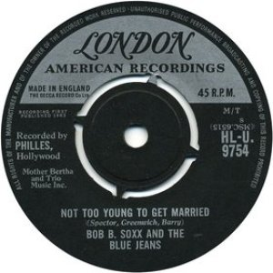 Image for 'Not Too Young To Get Married'