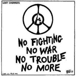 Immagine per 'No Fighting No War No Trouble No More'