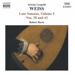 Image for 'WEISS: Lute Sonatas Nos. 38 and 43'