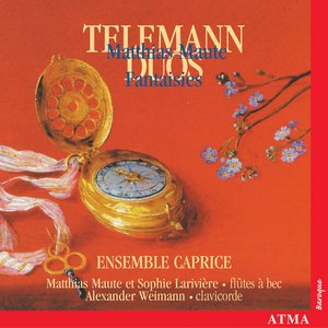 Image for 'Telemann: Sonatas and Duets for Recorder and Flute / Maute: Fantasies Nos. 1-5'
