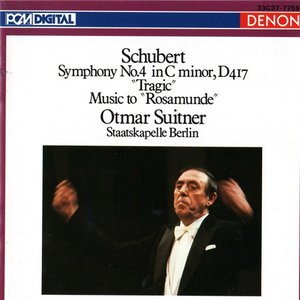 """Image for 'Franz Schubert: Symphony No. 4 in C Minor, D 417 """"Tragic"""" Music to """"Rosamunde""""'"""