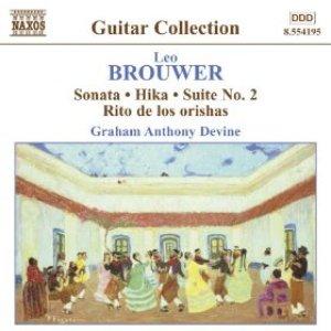 Bild für 'Brouwer: Guitar Music, Vol. 3 - Sonata / Hika / Suite No. 2 / Rio De Los Orishas'