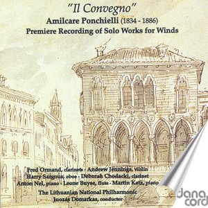 Immagine per 'Ponchielli, A.: Quartet for Flute, Oboe and 2 Clarinets / Paolo E Virginia / Il Convegno / Ricordanze Dell'Opera La Traviata / Sinfonia'