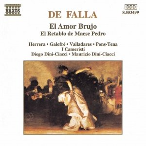 Bild für 'FALLA: El Amor Brujo / El Retablo de Maese Pedro'