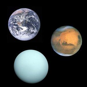 Image pour 'Zemja, Mars i Uran'