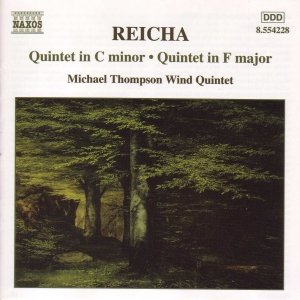 Image for 'REICHA: Wind Quintets, Op. 91, No. 6 and Op. 88, No. 6'