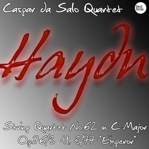 """Image for 'Haydn: String Quartet No.62 in C Major Op.76/3 H. 3/77 """"Emperor""""'"""