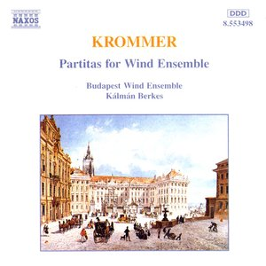 Immagine per 'Krommer: Partitas for Wind Ensemble Op. 57, 71 and 78'