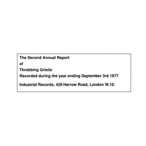 Image for 'The Second Annual Report of Throbbing Gristle'
