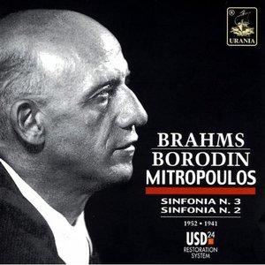Image pour 'Brahms: Sinfonia N. 3; Borodin: Sinfonia N. 2'