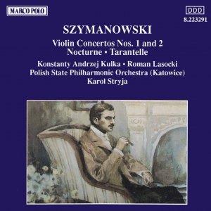 Image for 'SZYMANOWSKI : Violin Concertos Nos. 1 and 2'