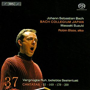 Image for 'BACH, J.S.: Cantatas, Vol. 37 (BWV 35, 169, 170, 200)'