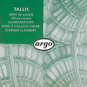Image for 'Tallis: Spem in alium; The Lamentations of Jeremiah'