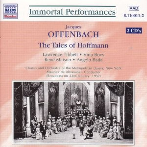 Image for 'OFFENBACH : The Tales of Hoffmann (Tibbett / Maison)'