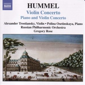 Image for 'HUMMEL: Concerto for Piano and Violin, Op. 17 / Violin Concerto'
