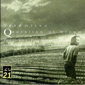Image for 'Takemitsu: Quotation of Dream'