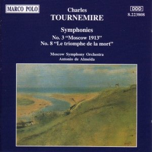 Image for 'TOURNEMIRE: Symphonies Nos. 3 and 8'