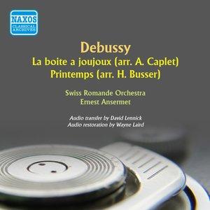 Image for 'Debussy: La boîte à joujoux - Printemps'
