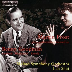 Image for 'COPLAND / HINDEMITH / ARNOLD: Clarinet Concertos dedicated to Benny Goodman'