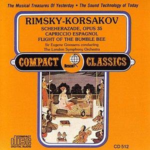 Bild för 'Rimsky-Korsakov: Scheherazade / Capriccio Espagnol / Flight of the Bumble Bee'