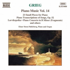 Image for 'GRIEG: Piano Transcriptions of Songs, Op. 52 / 23 Small Pieces /'