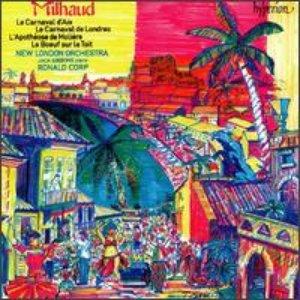 Image for 'Milhaud : Le carnaval d'Aix'