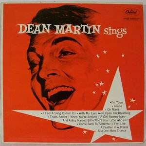 Image for 'Dean Martin Sings'