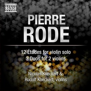 Image for 'Rode: 12 Etudes - 3 Duos'