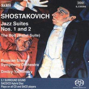 Immagine per 'Shostakovich: Jazz Suites Nos. 1 - 2 / The Bolt / Tahiti Trot'