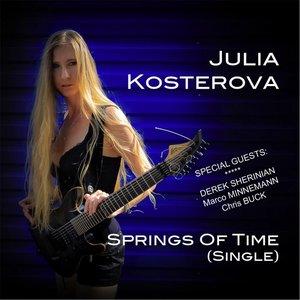 Image for 'Springs of Time (Single) [feat. Derek Sherinian, Marco Minnemann & Chris Buck]'