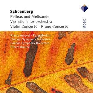 Image for 'Schönberg : Pelleas und Melisande, Variations, Violin Concerto & Piano Concerto'