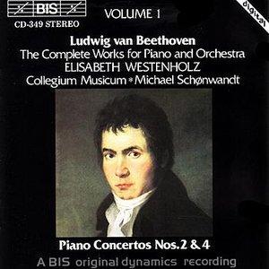 Image for 'BEETHOVEN: Piano Concertos Nos. 2 & 4'