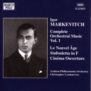 Image for 'MARKEVITCH: Le Nouvel Age / Sinfonietta in F Major'
