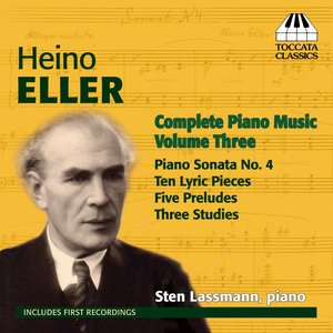 Image for 'Eller: Complete Piano Music, Vol. 3'
