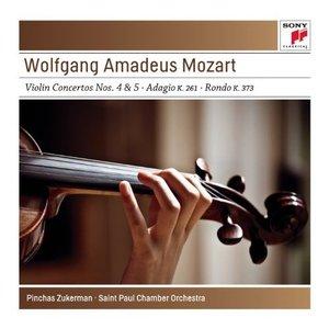 Image pour 'Mozart: Violin Concertos No. 4 K218 & No. 5 K.219; Adagio K261; Rondo K373 - Sony Classical Masters'