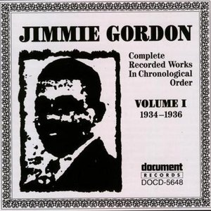 Image for 'Jimmie Gordon Vol. 1 (1934-1936)'