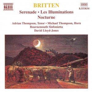 Image for 'BRITTEN: Serenade for Tenor / Les Illuminations / Nocturne'