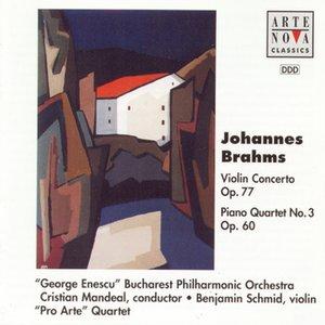 Image for 'Brahms: Violin Cto. Op.77/Piano Quartet No.3'