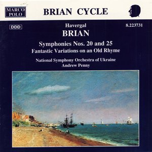 Image for 'BRIAN: Symphonies Nos. 20 and 25'