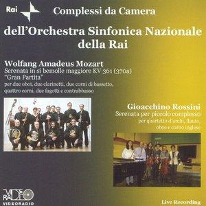 Image pour 'Serenata in si bemolle maggiore, KV 361 - Menuetto - Trio I (Menuetto) - Trio II'