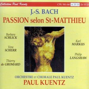 Image for 'J.S. Bach : La Passion Selon St-Matthieu BWV 244'