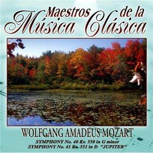 Image for 'Maestros de la musica clasica - Wolfgang Amadeus Mozart'