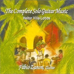 Image pour 'The Complete Solo Guitar Music: Heitor Villa-Lobos'