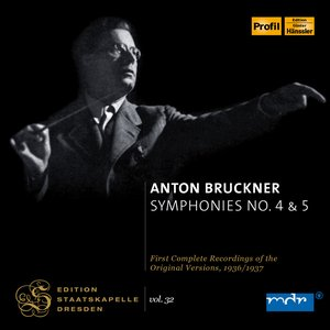Image for 'Bruckner: Symphonies Nos 4 & 5'