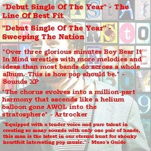 Image for 'Boy Bear It In Mind - Single 28/09/09'