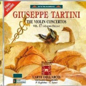 Image for 'Tartini: Violin Concertos, Vol. 17'